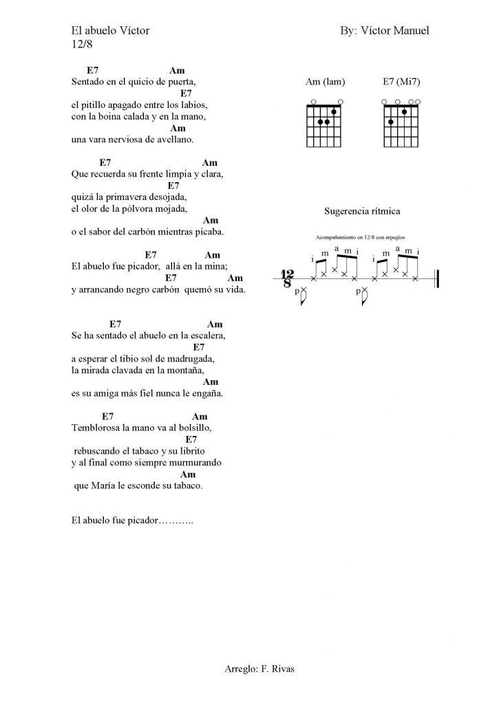 Acordes de la menor y Mi7 con la guitarra