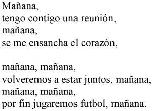 Manana Cancion sin acordes