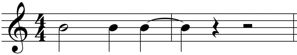 Ligadura de unión con negras
